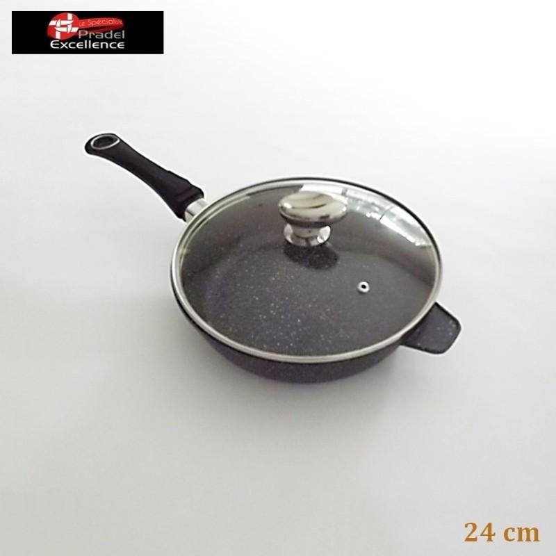 Sauteuse Classique 24 cm - Pradel Excellence - Cassolerie - Vue 1