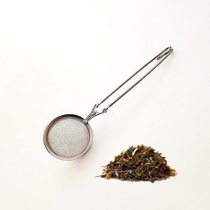 Pince à thé Inox 4,5 cm de diamètre - Pince pour thé en vrac et épice - Vue 1