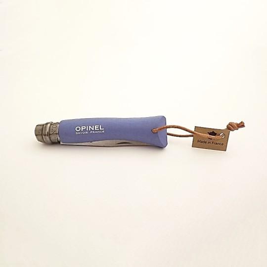 Opinel Couteau de poche baroudeur n° 7 bois bleu vue 3