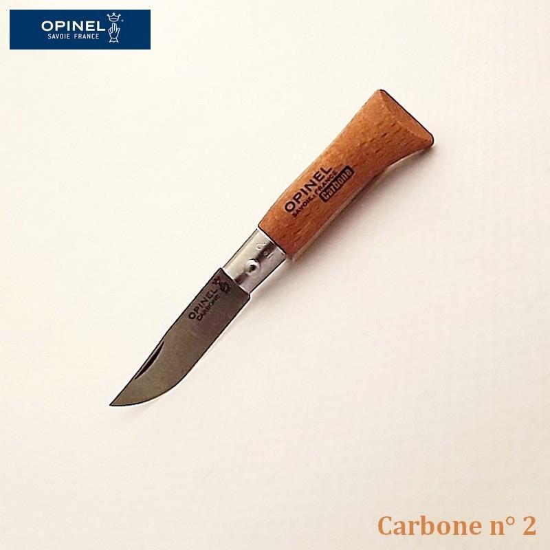 Opinel Couteau de Poche Carbone n°2  - Vue 1