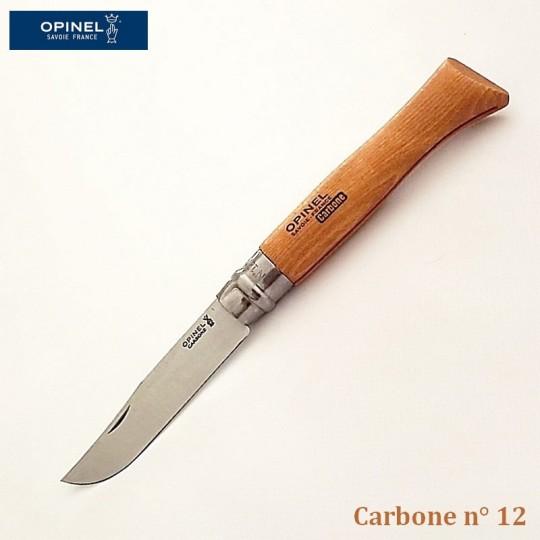 Opinel Couteau de Poche Carbone n°12 - Vue 1