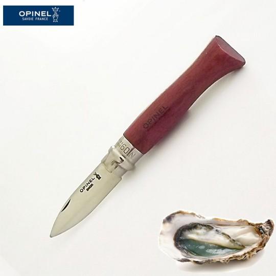 Opinel couteau de poche a huitre - bois de bubinga - vue1