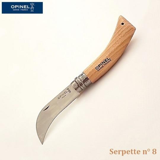 Opinel Couteau de Poche Serpette-Greffoir N°08 - Vue 1