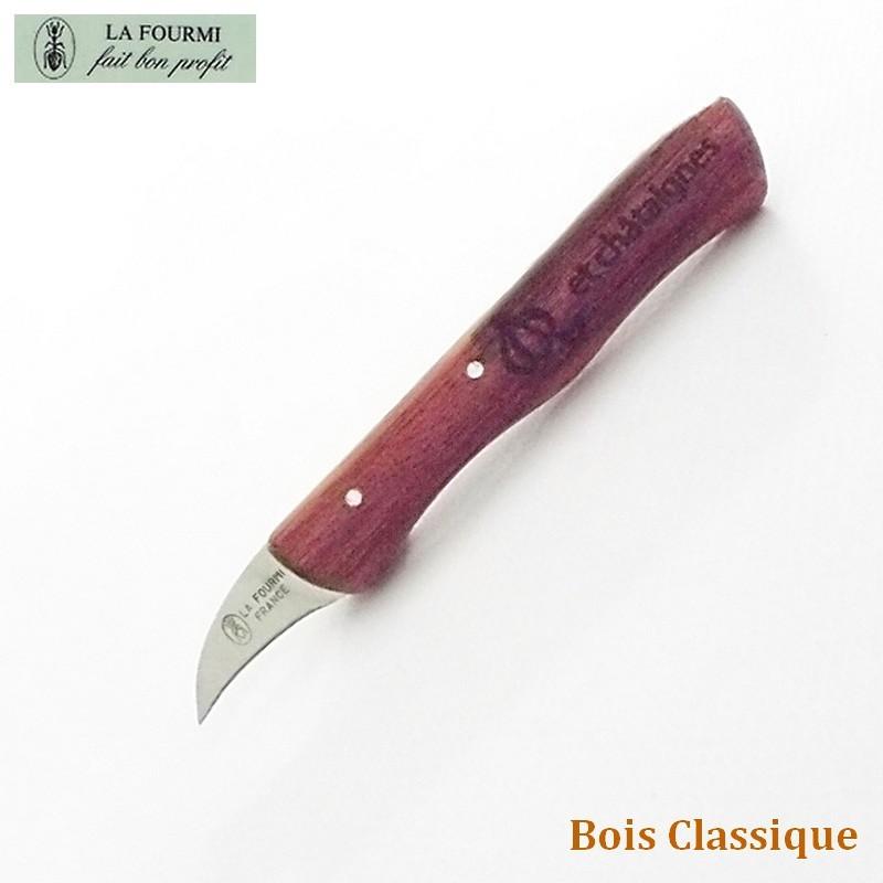 Couteau La Fourmi Ail et Châtaigne Bois Classique