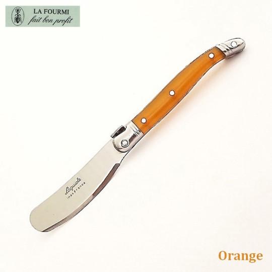 Laguiole couteau à beurre orange