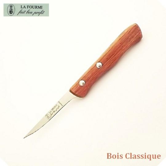 La Fourmi Couteau de Cuisine à Désosser - Bois classique