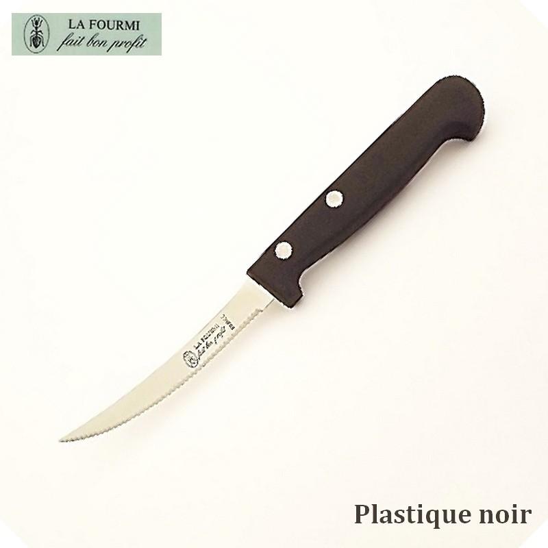 La Fourmi Couteau de Cuisine à Tomate -  Plastique noir