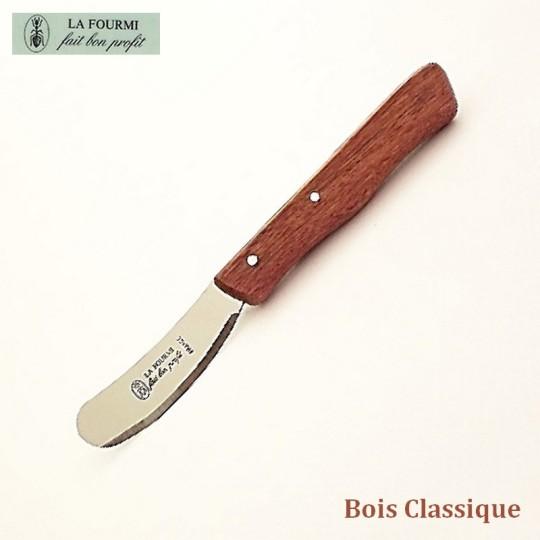 La Fourmi Couteau à beurre Bois classique
