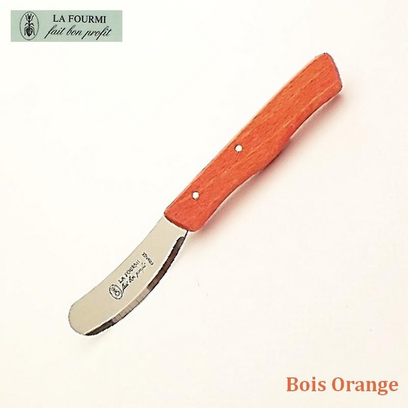 La Fourmi Couteau à beurre Bois orange