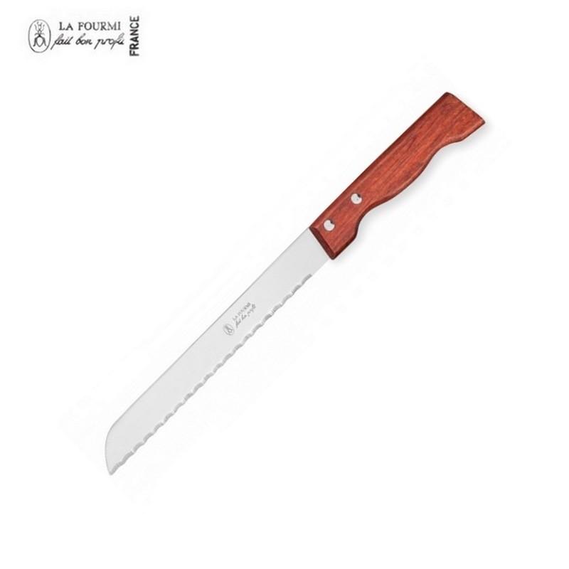 La Fourmi Couteau à Pain 29 cm - Bois Classique
