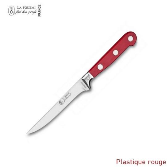 La Fourmi couteau de table gamme Prestige sans dents - plastique rouge