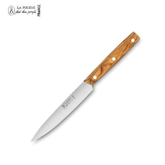 La fourmi couteau de table cubique sans dents - bois olivier