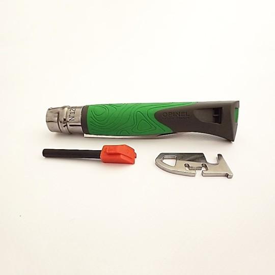 Opinel Couteau de Poche Explore - Vert - Vue 3