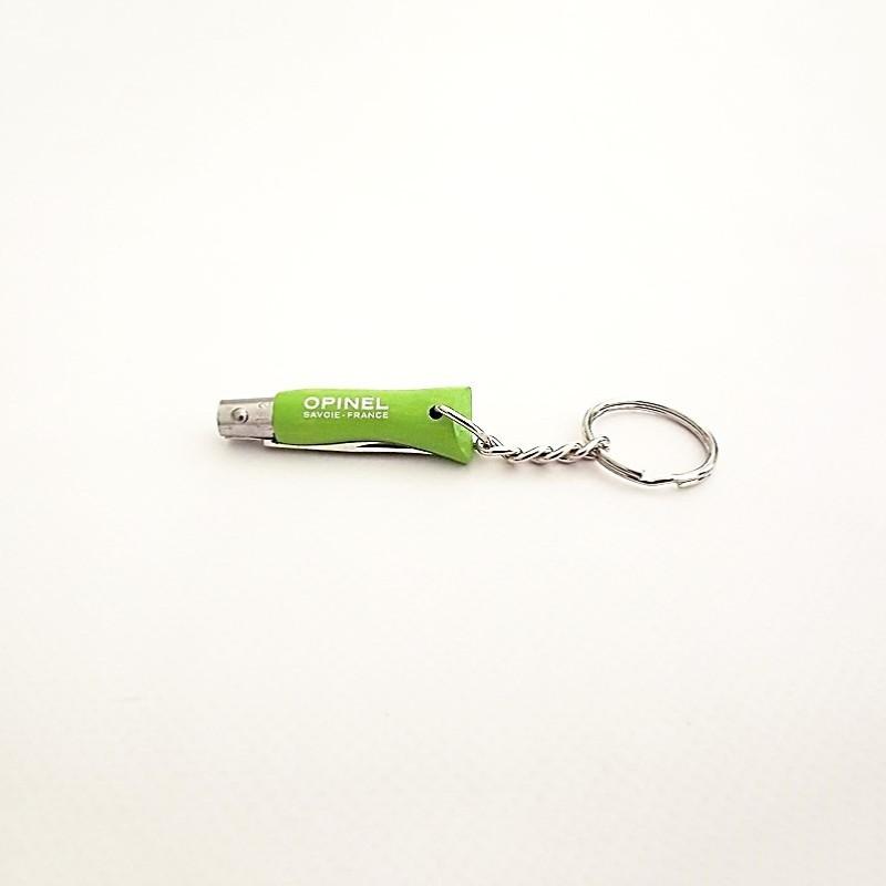 Opinel Couteau de Poche Porte-clé N°02 Vert - Vue 1