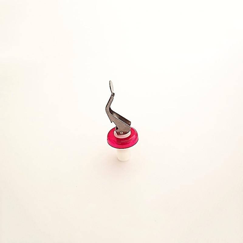 Bouchon levier rouge - Vue 1