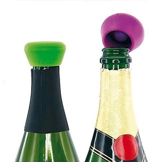 Lot de 2 Bouchons à Champagne Silicone Pulltex - Vue 4