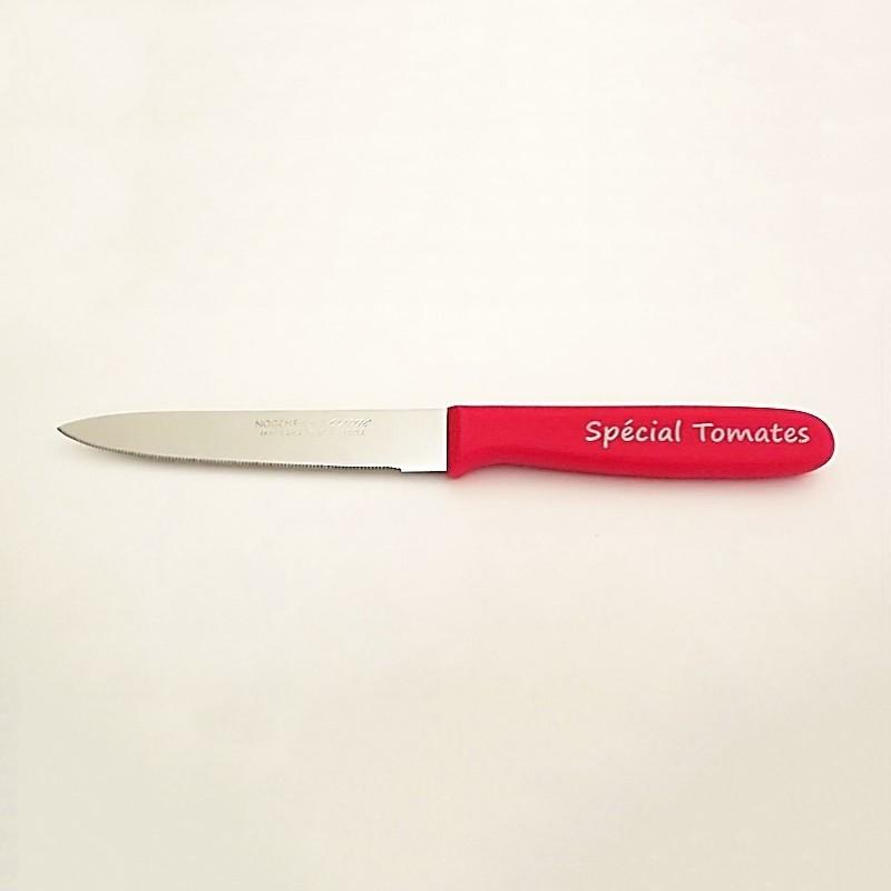 Nogent Couteau Spécial Tomate Plastique rouge - Vue 1