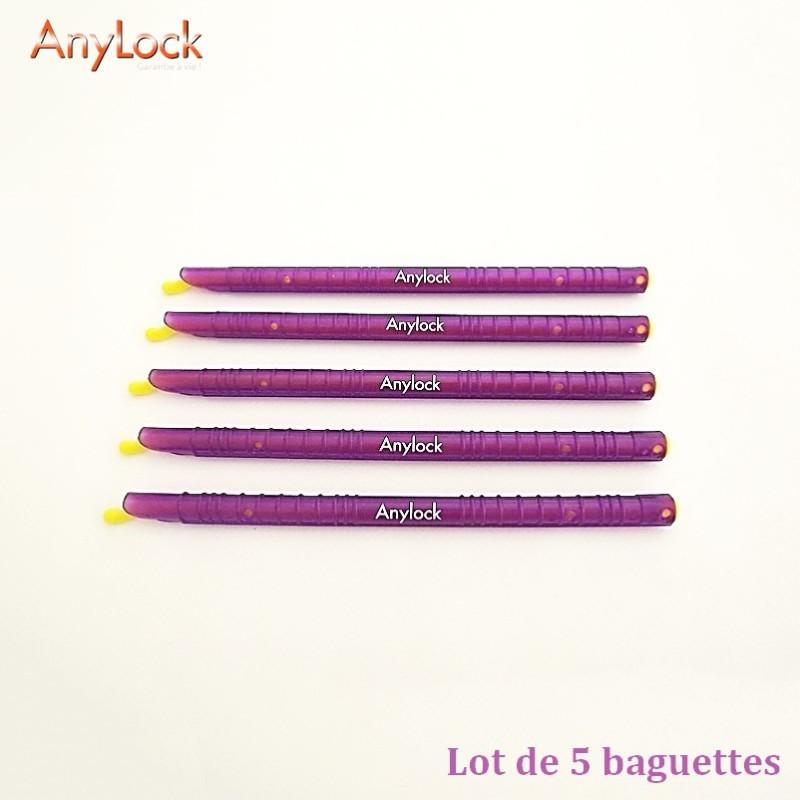 Lot de 5 Baguettes Anylock 18,5 - Vue 1 - coutellerie-du-sud.com