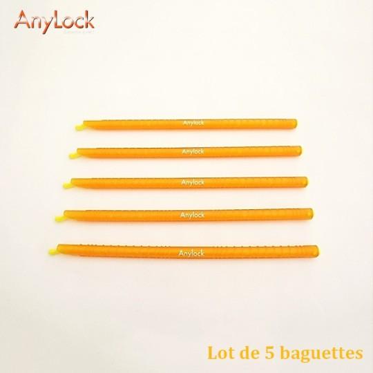 Lot de 5 Baguettes 22,5 cm - Vue 1 - coutellerie-du-sud.com