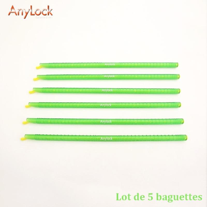 Lot de 5 Baguettes 28,5 cm - Vue 1 - coutellerie-du-sud.com