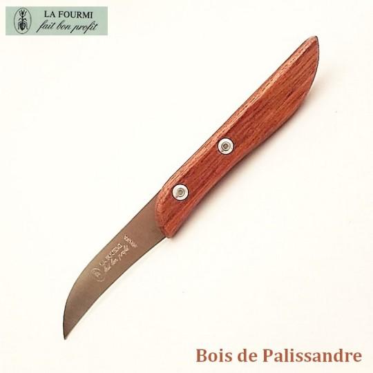 La Fourmi couteau de cuisine serpette - Bois de palissandre - Vue 1