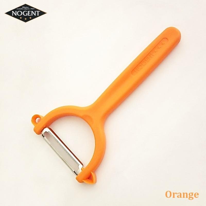 Nogent Rasoir Vice-Versa Plastique orange - Vue 1