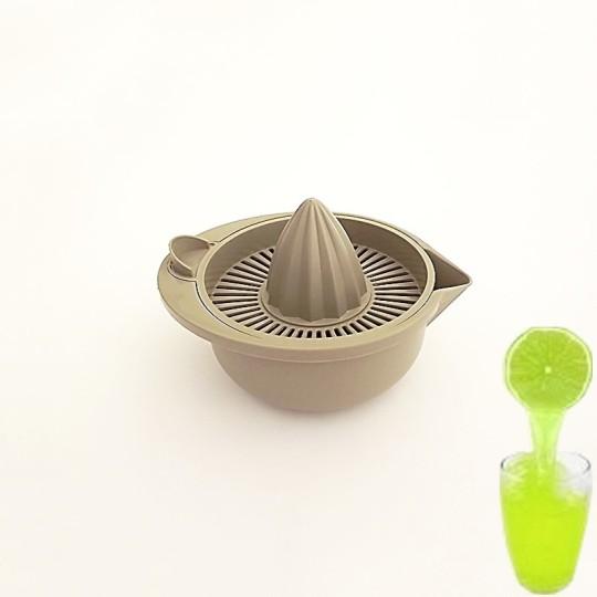 Presse agrume avec réservoir - Taupe - Vue 1
