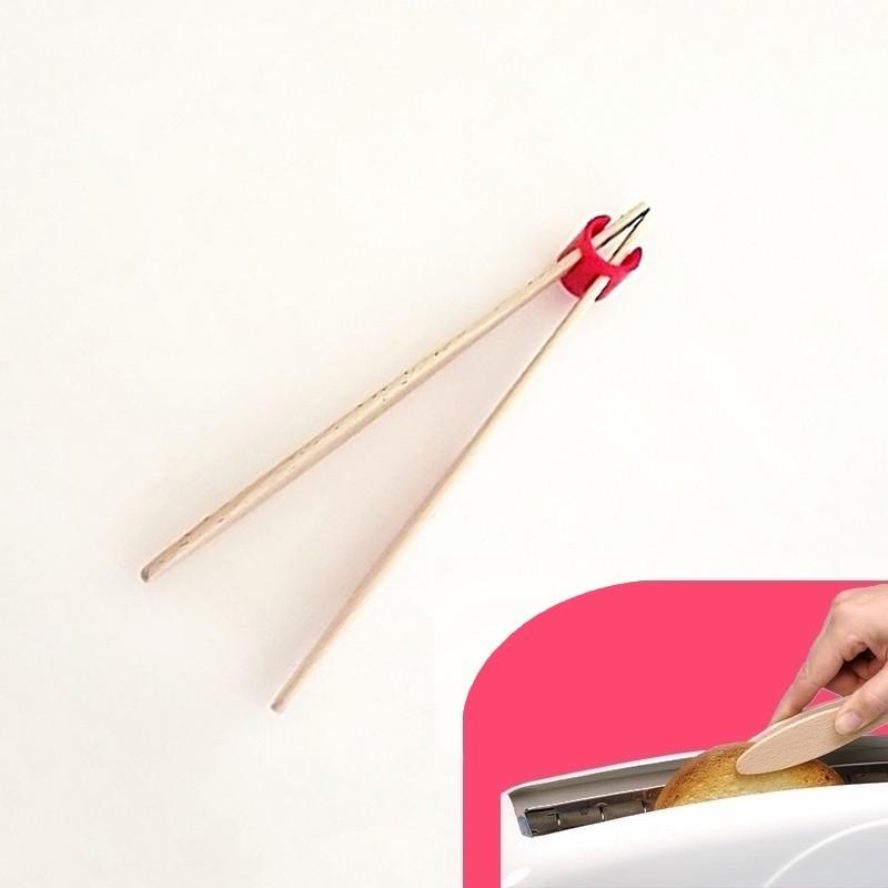 Pince à toast 27 cm - Rouge - Vue 1