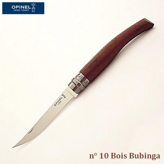 Opinel Couteau de Poche Effilé N°10 Bois bubinga - Vue 1
