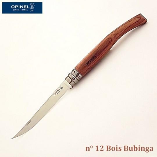 Opinel Couteau de Poche Effilé N°12 Bois bubinga - Vue 1