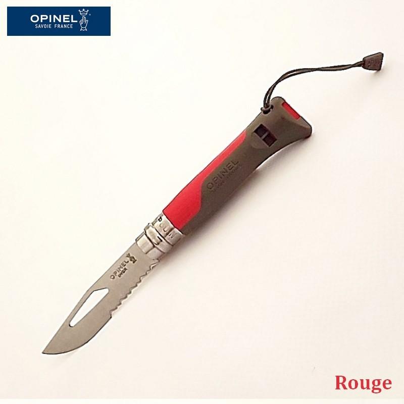 Opinel Couteau de Poche Outdoor Rouge - Vue 1