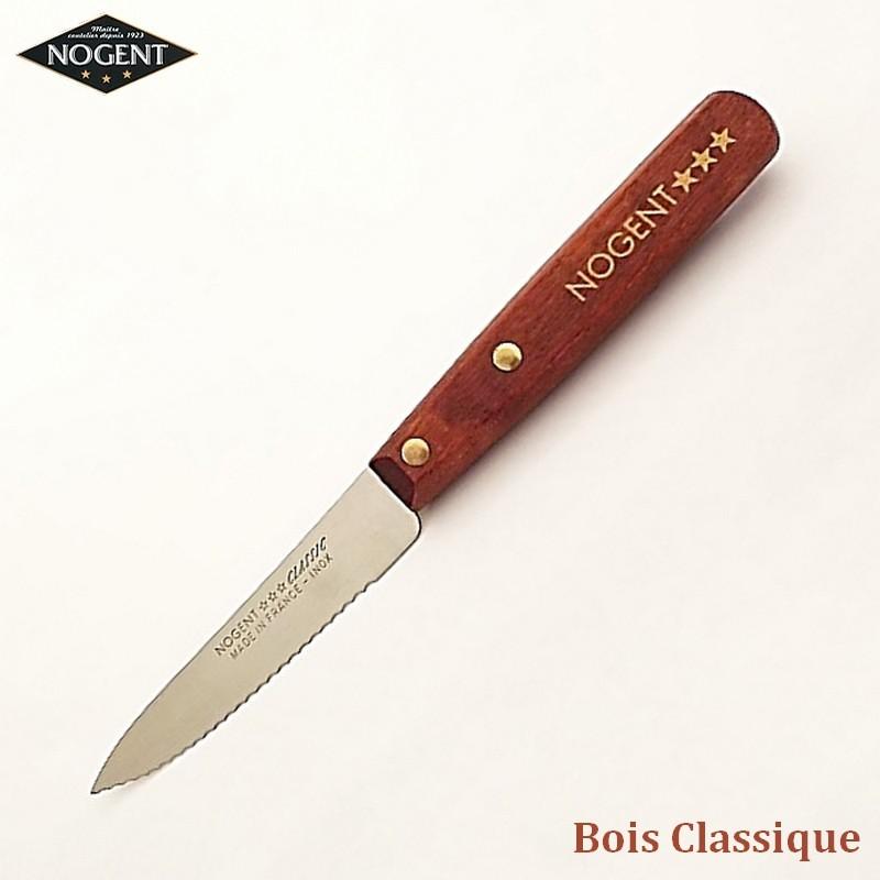 Nogent Couteau Cranté Bois classique - Vue 1