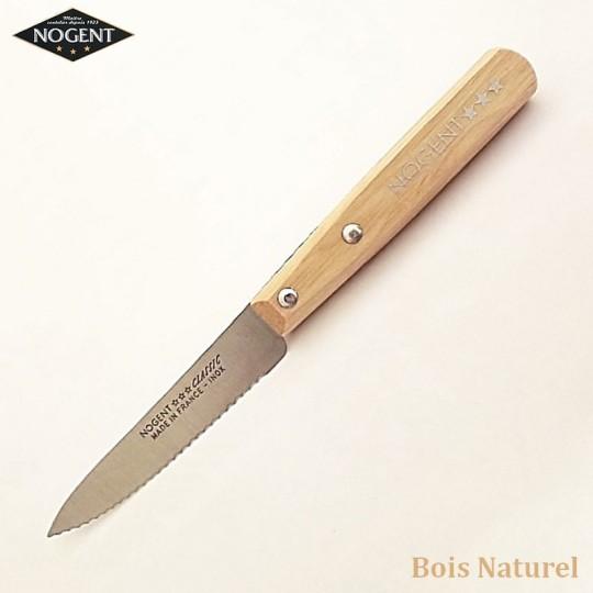Nogent Couteau Cranté Bois naturel - Vue 1