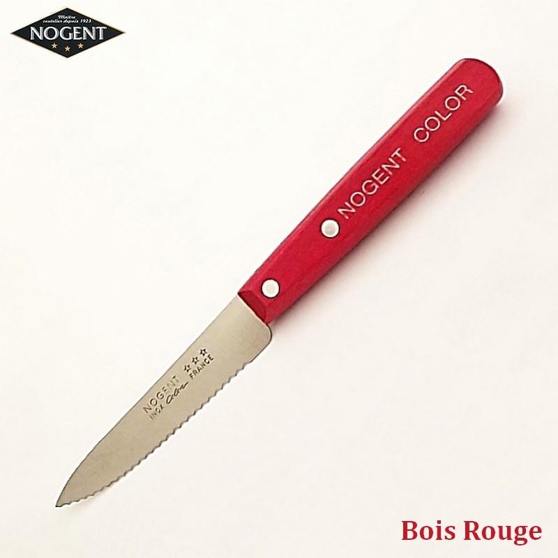 Nogent Couteau Cranté Bois rouge - Vue 1
