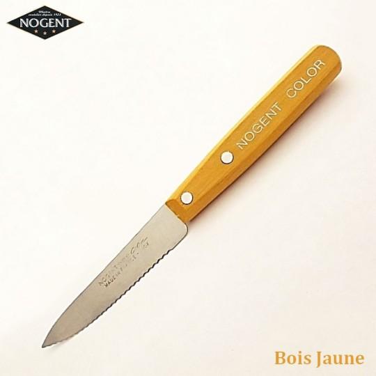 Nogent Couteau Cranté Bois jaune - Vue 1
