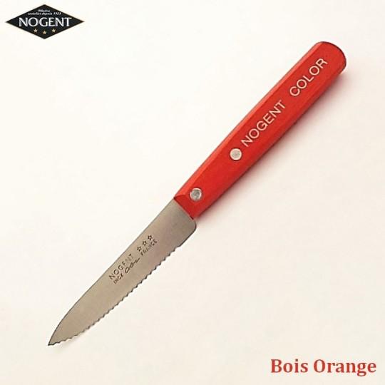 Nogent Couteau Cranté Bois orange - Vue 1